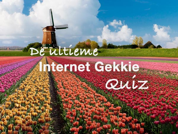 Ultieme Internetgekkie Quiz